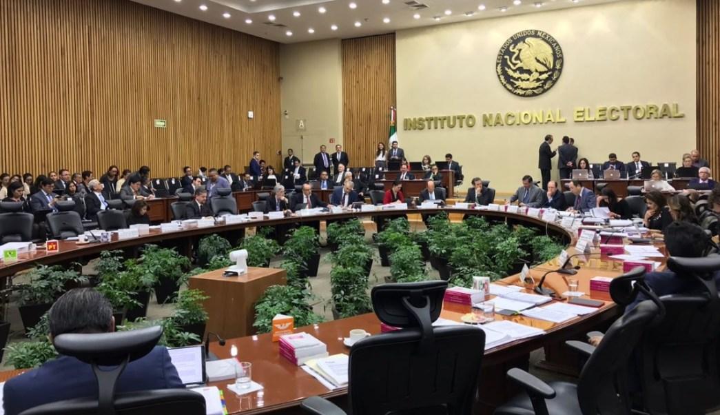 INE, por concluir fiscalización a partidos para enviarlo al Tribunal Electoral