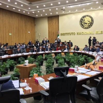 INE, por concluir fiscalización a partidos políticos para enviarla a Tribunal Electoral