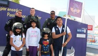 Enseñan prevenir accidentes a niños de Puebla durante curso verano