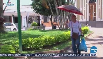 Intensa Ola Calor Afecta Estado Colima