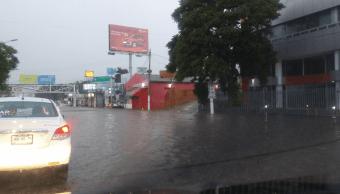 Lluvias intensas afectan Zapopan, Guadalajara y Tlajomulco