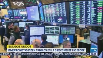Inversionistas Piden Remover Zuckerberg Ceo Facebook