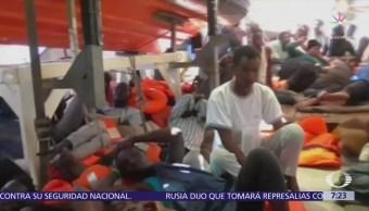 Italia mantiene puertos cerrados a migrantes de Medio Oriente