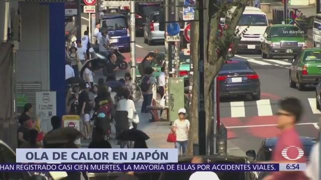 Japón registra 80 muertes por ola de calor