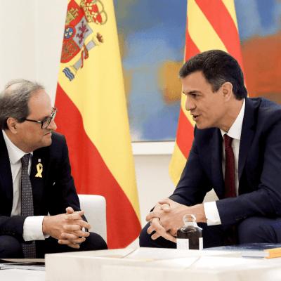 Presidentes de España y Cataluña encauzan relación pese a diferencias