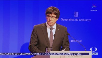 Juez rechaza extradición de Carles Puigdemont