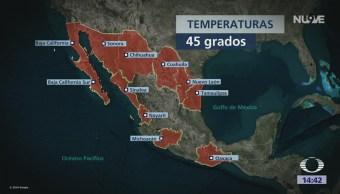Ola Calor Afecta Gran Parte República Mexicana
