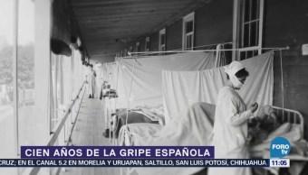 La gripe española, pandemia que mató a millones