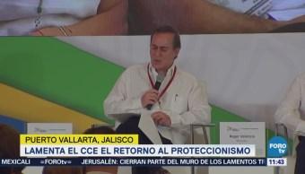 Lamenta Castañón de CCE el regreso del proteccionismo