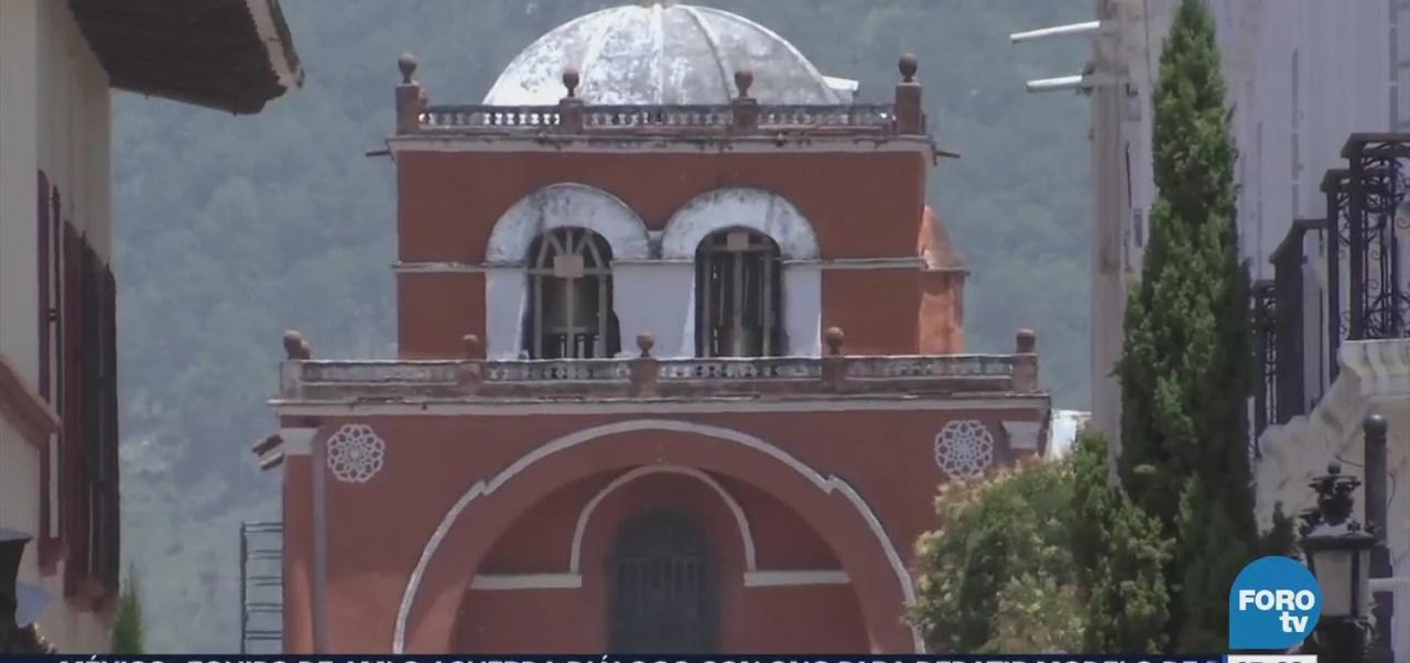Lento avance en reconstrucción de monumentos históricos dañados por sismo en Chiapas