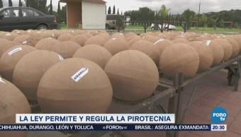 Ley permite y regula pirotecnia en México