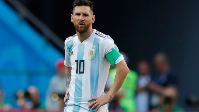 Messi provoca divorcio de pareja en Rusia