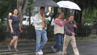 Llueve en 12 delegaciones de la CDMX