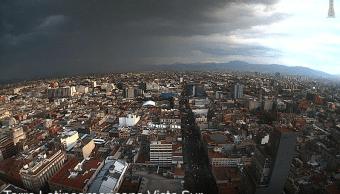 lluvia viento delegaciones cdmx alerta amarilla