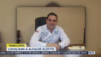 Localizan al alcalde electo de Ciudad Mier, Gustavo González