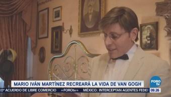 #LoEspectaculardeME: Mario Iván Martínez visita lugares que frecuentaba Van Gogh
