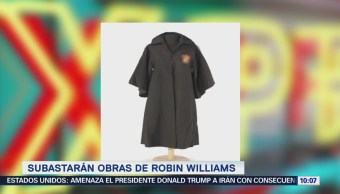 #LoEspectaculardeME: Subastarán obras de arte que pertenecieron a Robin Williams