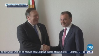 Luis Videgaray Recibe Mike Pompeo