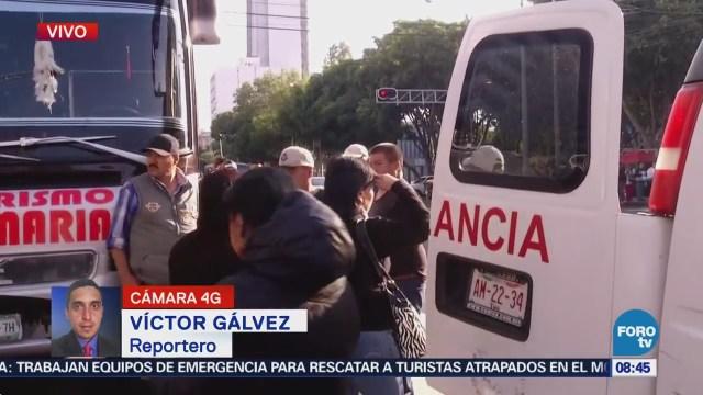 Manifestante en plantón frente a Sagarpa sufre infarto