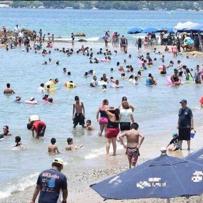 Detectan la presencia de marea roja en el puerto de Acapulco