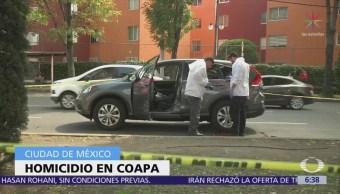 Matan a balazos a conductor de camioneta en Coapa, CDMX