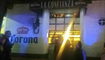 Matan hombre dentro de un bar en Santa María la Ribera