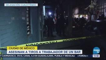 Matan Hombre Bar Delegación Cuauhtémoc CDMX