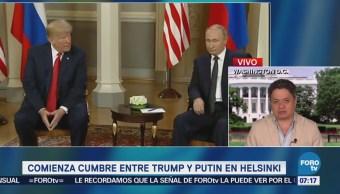 Medios de EU cuestionan la relación política entre Trump y Putin