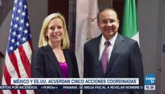 México Estados Unidos Acuerdan Cinco Acciones Coordinadas