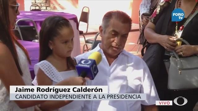 Hizo Gran Trabajo Campaña Dice Jaime Rodríguez Calderón