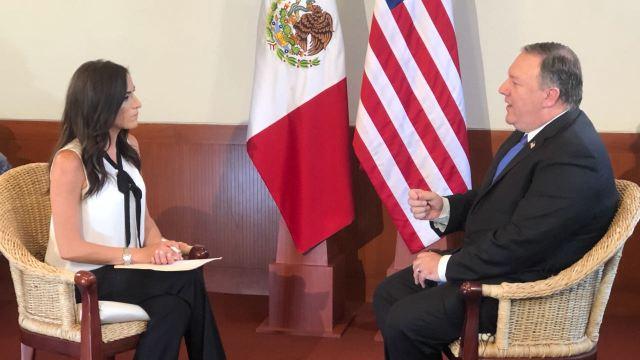 Mike Pompeo celebra proceso democrático México