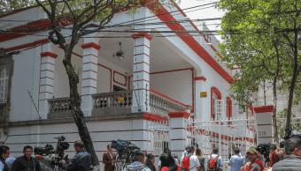 Montan operativo de seguridad en casa de transición de López Obrador