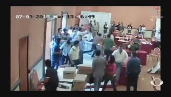 Morenistas se enfrentan con panistas en