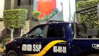 Hombre detona arma en hotel y moviliza a policías en CDMX