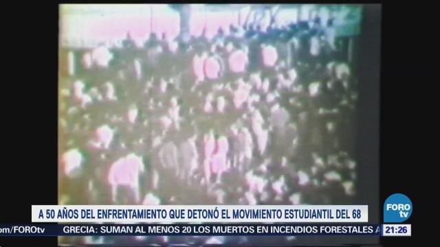 Movimiento estudiantil de 1968 cumple 50 años