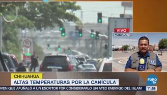 Muere una persona por golpe de calor en Camargo, Chihuahua