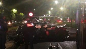 Dos hombres mueren en accidente automovilístico sobre Viaducto Río Piedad