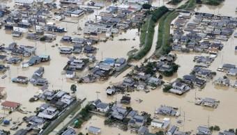 Suman 209 muertos por las inundaciones en Japón