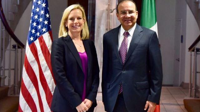 Acuerdos en materia de seguridad entre México y EU