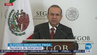 Navarrete Prida: Gobierno fortalece el combate de la trata de personas