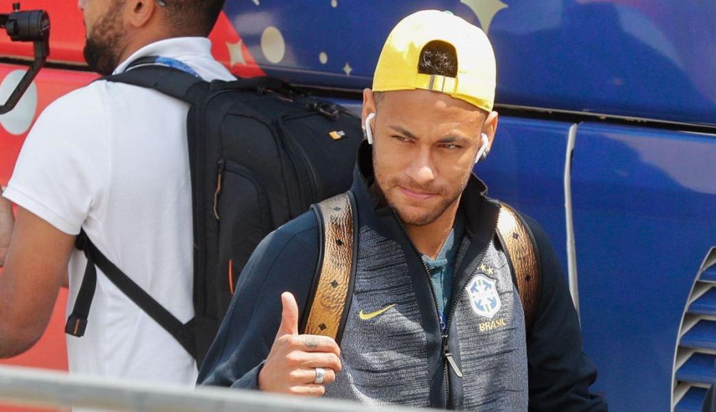 Neymar hizo perder 14 minutos de juego