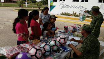 Veracruz quiere que los niños dejen de usar armas de juguete