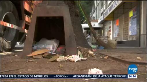Problema Basura Cdmx Ciudad de México