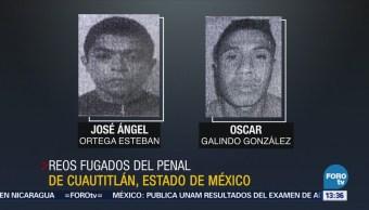 Delincuentes Comunes Reos Fugados Penal Cuautitlán