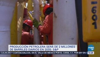 Baja Producción Crudo México Seguirá S&P