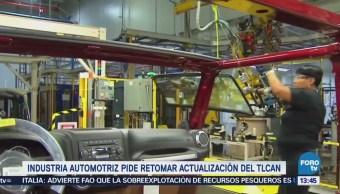 Industria Automotriz Pide Retomar Tlcan