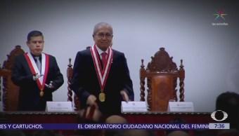 Nuevo fiscal general de Perú, salpicado por escándalo de corrupción