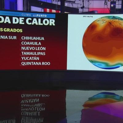 Onda de calor seguirá afectando a México