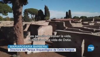Ostia, la primera colonia romana, fundada antes de Cristo