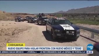 PF en Chihuahua recibirá vehículos todo
